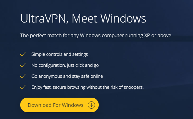 How to download and install the UltraVPN