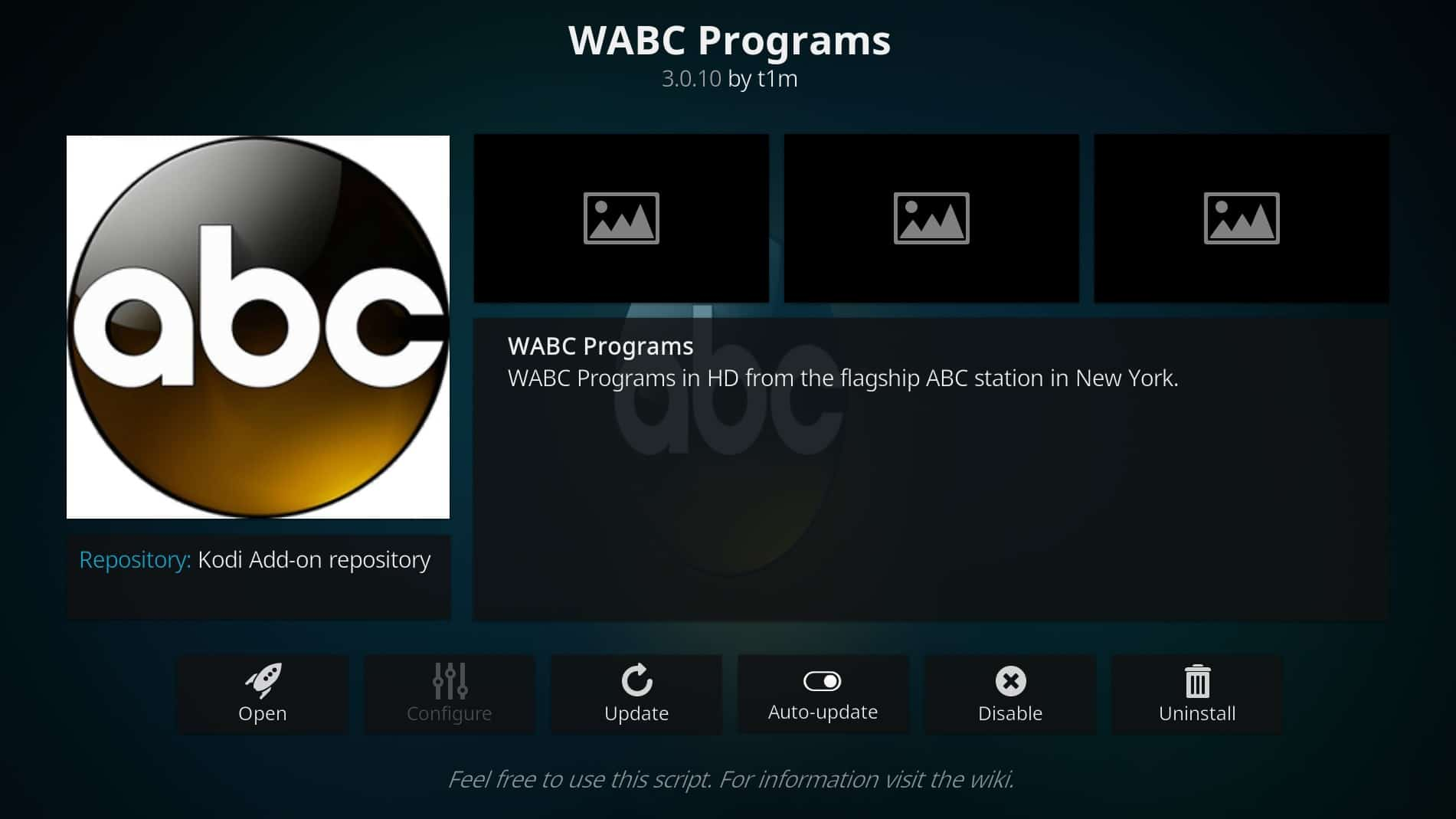 How To Watch Abc Live On Kodi step 04