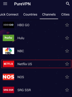 How do I watch Netflix on PureVPN 03
