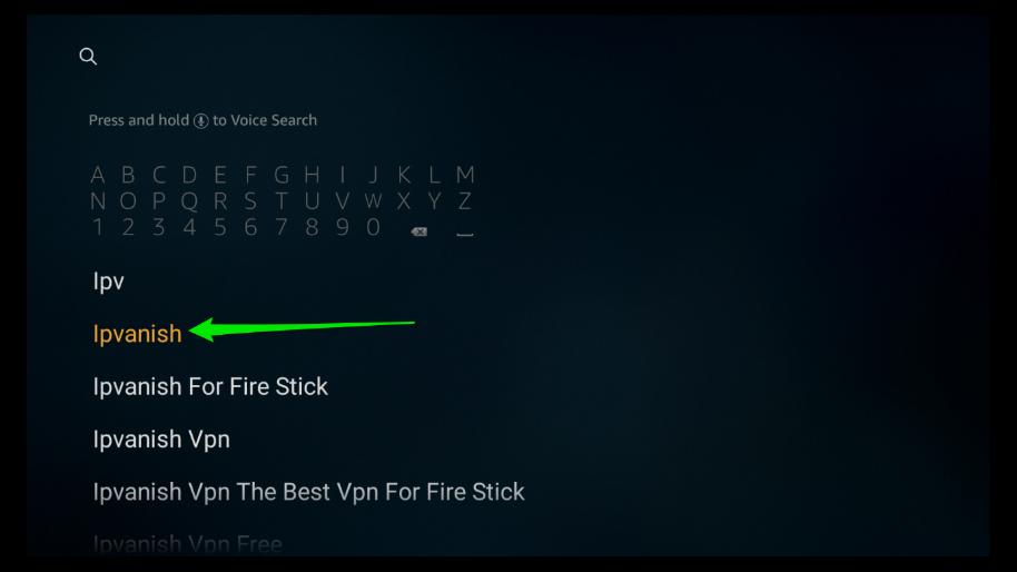 How to Download IPVanish on Firestick 02