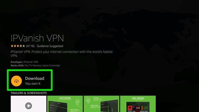 How to Download IPVanish on Firestick 04