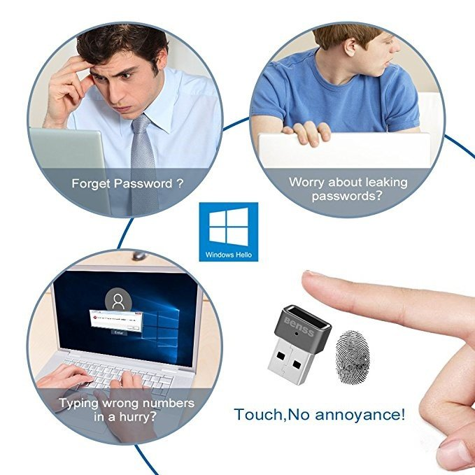 NanoSecure Key Features