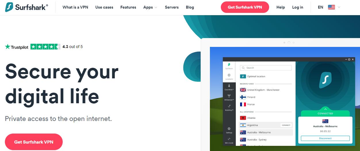 Surf Shark VPN