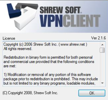 Shrew Soft VPN Client