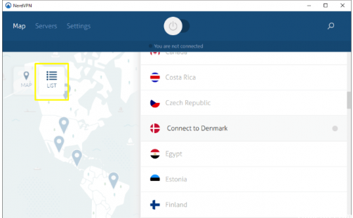 Change the DNS Server When Connected to NordVPN