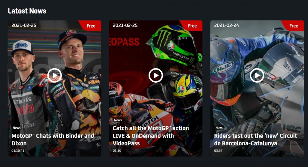 assistir MotoGP online