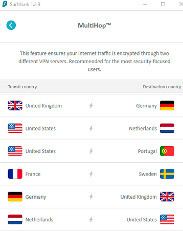 Connect to a My5 server in the UK
