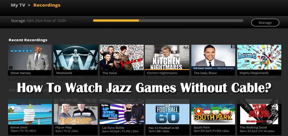 How To Watch Jazz Games Without Cable?