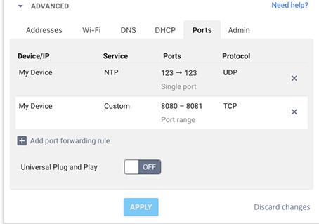 How to Set up Port Forwarding?
