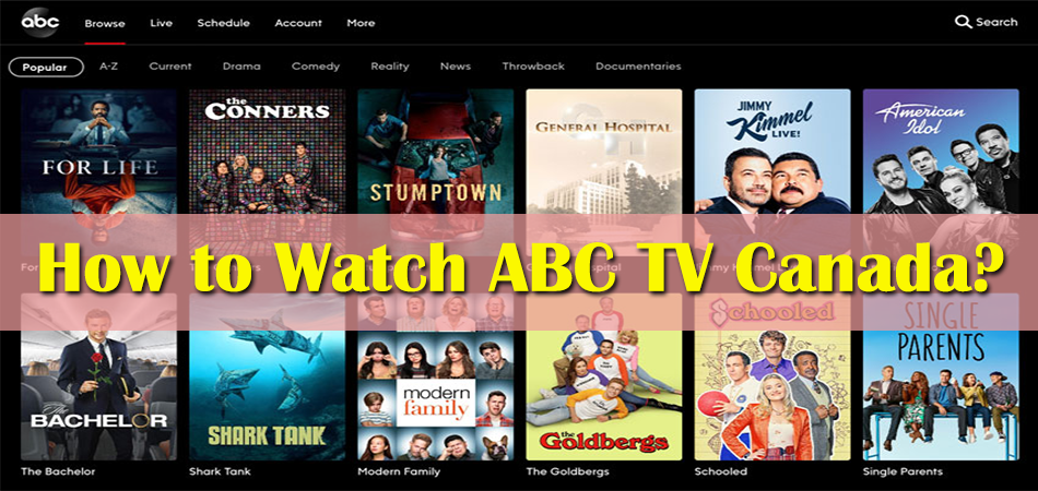 How to Watch ABC TV Canada?