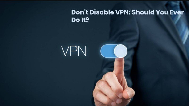 Disable VPN on the Interface