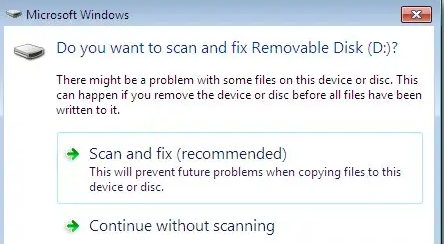 Scans All Removable Drives