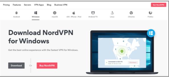 Sign up for a VPN